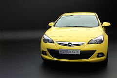 New Opel Astra GTC Royalty Free Stock Image