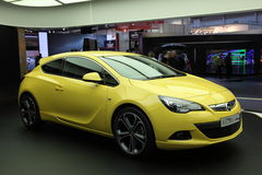New Opel Astra GTC Royalty Free Stock Photos