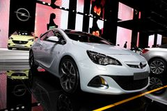 The New Opel Astra OPC Royalty Free Stock Image