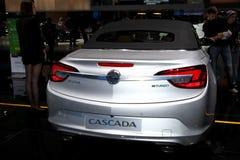 The New Opel Cascada - rear view Stock Photos