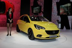 The new Opel Corsa Stock Images