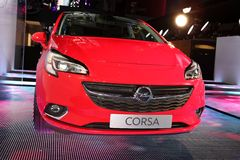 The new Opel Corsa Stock Photography