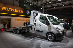 New Opel Movano tow truck Stock Images
