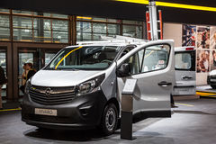 New Opel Vivaro Van Royalty Free Stock Images