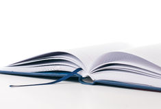New open business diary isolated Royalty Free Stock Photo