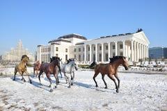 New Opera Theatre in Astana_ Kazakhstan Stock Photography