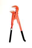 New orange pliers Royalty Free Stock Photos