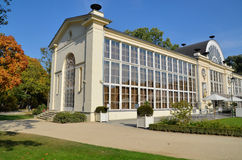New Orangery in the Lazienki Park in Warsaw Royalty Free Stock Photos