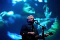 New Order band performs at FIB Stock Photo