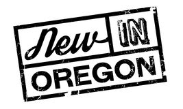 New In Oregon rubber stamp Stock Photography