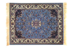 New Orient Carpet. Traditional orient cover isolated over white background Stock Photos