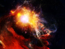 New Orion. Abstract nebulous composition on the subject of cosmos, space and universe Stock Photography