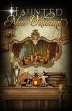 New Orleans Achtervolgd Voodoo Royalty-vrije Stock Afbeeldingen