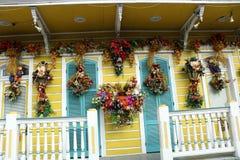 New Orleans alloggia i balconi d'annata Immagini Stock