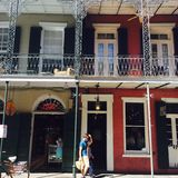 New Orleans architecture Royalty Free Stock Photo