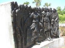 New Orleans Art In Louis Armstrong Park royaltyfri fotografi