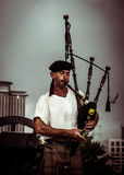 New Orleans Bagpipe Player Royalty Free Stock Photo