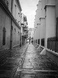 New Orleans bakgata Arkivbilder