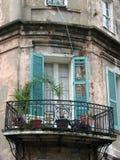 New Orleans balcony royalty free stock photos