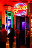 New Orleans Bourbon Street Razzoo Music Club Stock Image