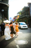 New Orleans Bride royalty free stock photography