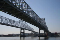 New Orleans bridge Royalty Free Stock Image