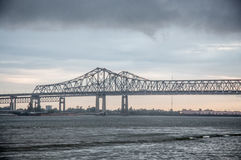 New Orleans bridge Royalty Free Stock Images