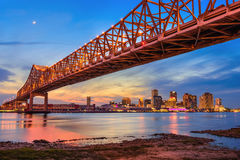 New Orleans Bridge stock photos