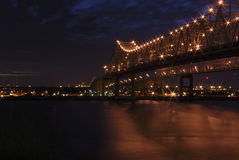 New Orleans Bridge Royalty Free Stock Photography