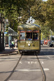 New Orleans Cable Car Royalty Free Stock Photos