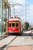 New Orleans Canal Street Car. New Orleans riverfront trolley car Royalty Free Stock Photography
