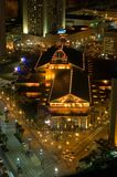 New Orleans casino. A night view of a busy street intersection and brightly lit casino in downtown New Orleans, Louisiana Stock Images