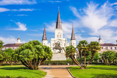 New Orleans Cathedral Stock Photo