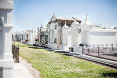 New Orleans cemetery Stock Photos