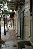 New Orleans City Street. French Quarter New Orleans city street stock images
