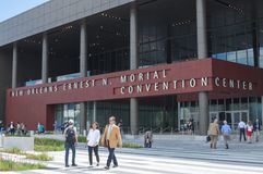New Orleans Convention Center Royaltyfri Bild
