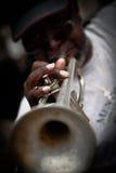New Orleans - de Musicus van de Straat Royalty-vrije Stock Foto's