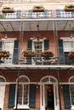 New Orleans - de Scène van de Straat stock afbeeldingen