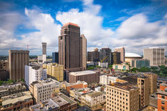 New Orleans Downtown Skyline Royalty Free Stock Image