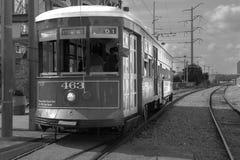 New Orleans drevtrolley Royaltyfria Bilder