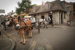 New Orleans - escena de la calle Fotografía de archivo
