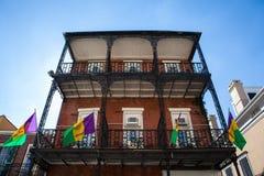 New Orleans festligheter arkivfoto