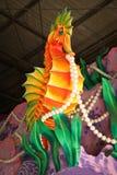 New Orleans - flotador del carnaval fotos de archivo