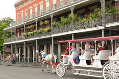 New Orleans - French Quarter stock images