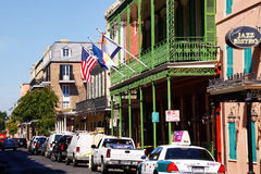 New Orleans French Quarter Architecture Stock Image