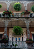 New Orleans French Quarter Architecture Stock Images