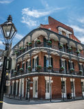 New Orleans French Quarter Architecture Stock Photography