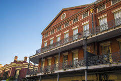 New Orleans, French quarter. New Orleans, Louisana French quarter building architecture royalty free stock photo