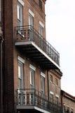 New Orleans French Quarter Street. Scene stock images