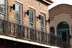 New Orleans French Quarter Street. Scene stock photos